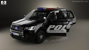 Ford Explorer 2016 Interior 360 View Of Ford Explorer Police Interceptor Utility With Hq