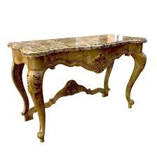 seven sedie baroque console table clizia 3d model max obj fbx mtl