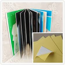 Adhesive Photo Album Self Adhesive Pvc Sheet For Photo Album From Jinan Alands Plastic