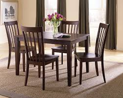 chocolate dining room table traditional dining merrell s furniture 1