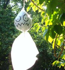 Halloween Ghost Decorations For Trees by How To Make Halloween Ghost Decorations For Outside Halloween
