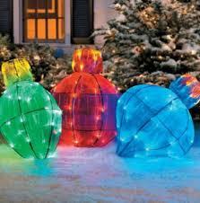large bulb outdoor christmas lights outdoor lighted giant christmas light bulb holiday yard art