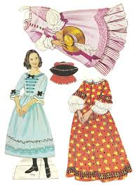 167 women paper dolls images paper