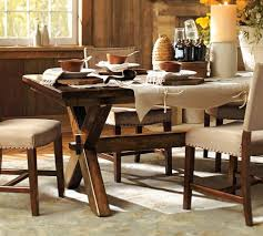 Stunning Dining Room Table Pottery Barn Contemporary Home Design - Pottery barn dining room set