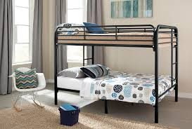 Iron Bunk Bed Designs Black Twin Twin Metal Bunk Bed Happy U0027s Home Centers