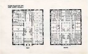 1920s floor plans monroe county ny library system 2thfinders architecture