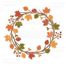 autumn wreath autumn wreath svg cuttable clipart cut file for silhouette cricut