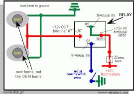 wiring diagram car horn relay tciaffairs