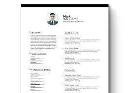 graphic design resume templates 40 best 2018 s creative resume cv templates printable doc