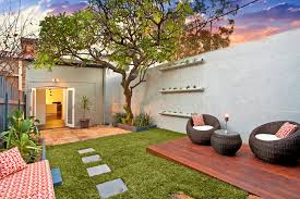 Deck In The Backyard There U0027s A Party In The Backyard Says A Houzz Landscaping Survey