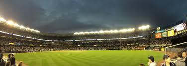 yankee stadium home run lights one final night of magic