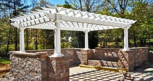 White Vinyl Pergola Kits by Vinyl Gazebo Kits For Sale Pergola Gazebo Ideas