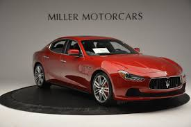 red maserati sedan 2016 maserati ghibli s q4 stock m1622 for sale near westport ct