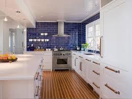 coastal home stonington architect tech lighting white kitchen blue