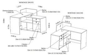 bureau d angle réversible vista imitation chêne bureaus and desks
