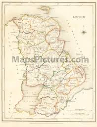 Map Of Dublin Ireland Maps And Pictures County Maps Of Ireland From 1837