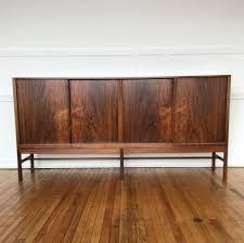 Rosewood Laminate Flooring Mid Century Danish Rosewood Sideboard Cabinet Bar By Kurt