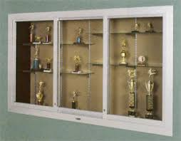 trophy display cabinets wiusa com 390 large door series display case by claridge these