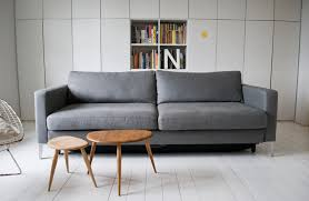 Karlstad Loveseat And Chaise Lounge Ikea Karlstad 3 Seater With Cover Fr O M Bemz Com Belgian Linen