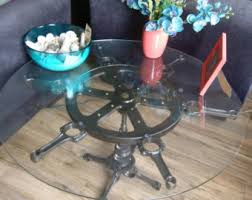 Car Wheel Coffee Table by Car Part Furniture Etsy