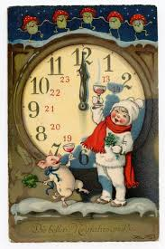 306 best new year around the world vintage cards and images