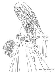 bride and groom coloring page at coloring pages eson me