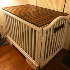 Dog Crate With Bathroom by The 25 Best Diy Dog Kennel Ideas On Pinterest Dog Crates Dog