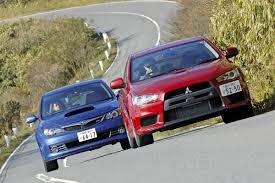 Mitsubishi Lancer Evo X Vs Subaru Impreza Wrx Sti Auto Express