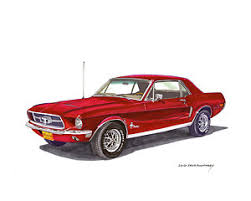 ford mustang 1968 coupe 1968 mustang posters america