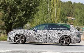 one last look on the 2018 audi rs4 avant before the wraps come off