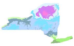 Growing Zone Map Dutchess County New York Hardiness Zones