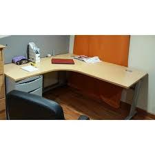 bureau angle avec rangement bureau d angle avec casier de rangement achat et vente