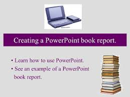 powerpoint book report template conference paper presentation ppt