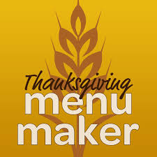 thanksgiving menu maker from cooking on the app store
