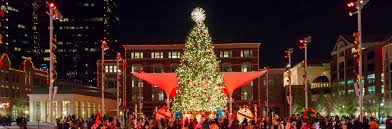 sundance square christmas tree lighting christmas tree nordmann fir