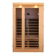 radiant sauna 2 person cedar infrared sauna with 6 carbon heaters