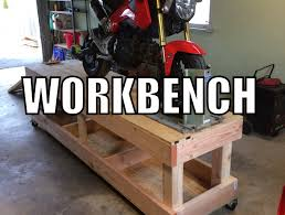 how to build a work table how to build a motorcycle workbench youtube