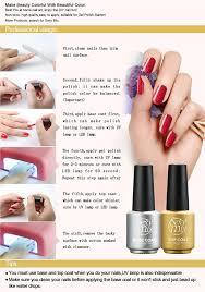 cure nail polish with uv l amazon com mix gel nail polish colors changing nail polish