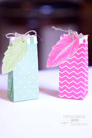 party favor bags diy party favor bags and place cards tombow usa