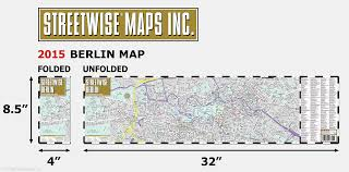 Map Of Berlin Germany by Streetwise Berlin Map Laminated City Center Street Map Of Berlin