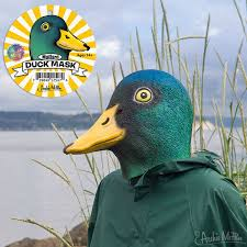 Mallard Duck Home Decor Mallard Duck Mask Accoutrements Archie Mcphee Wholesale