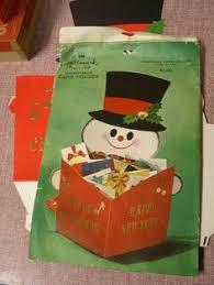 vintage hallmark pop up christmas card vintage christmas