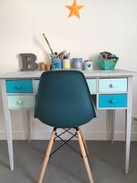 bureau turquoise relooking bureau chambre d enfant garance et ses étoiles le