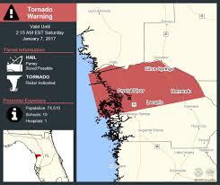 Crystal River Florida Map by Take Cover Tornado Warning Including Hernando Fl Citrus