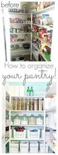 how to organize your pantry and a pretty pantry makeover classy