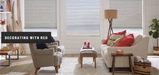 decorating with red budget blinds albert lea