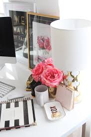 meagan ward u0027s girly chic home office office tour girly office