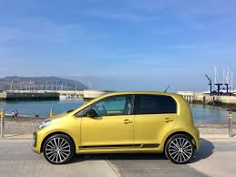 volkswagen up yellow volkswagen up 1 0 litre tsi review changing lanes