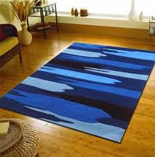 Modern Floor Rug Designer Floor Rug G601 Blue Modern Rugs Floor Rugs