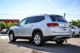 volkswagen atlas black 2018 volkswagen atlas highline awd w leather sunroof app connect